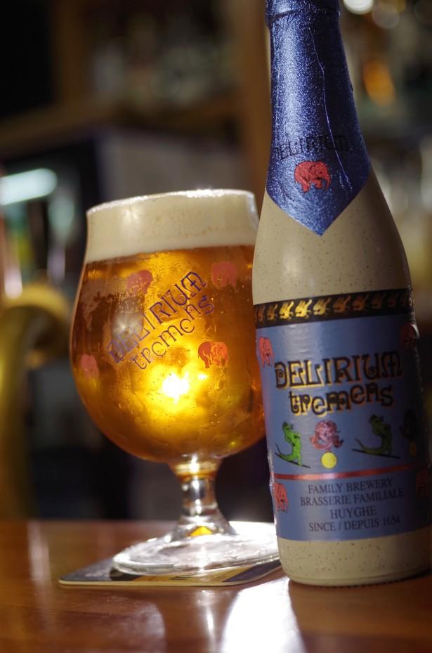 Delirium tremens - top belgické pivo